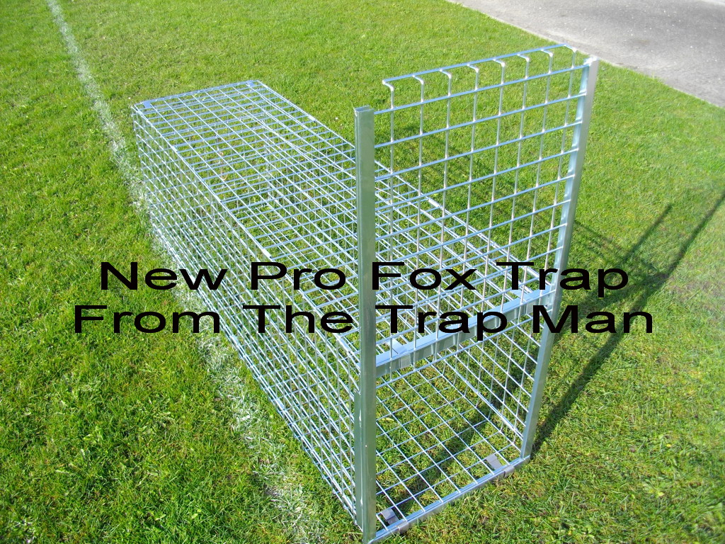 closer look at our new pro fox trap